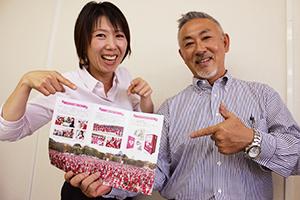 和歌山初開催への参加を呼び掛ける川﨑代表㊨ら