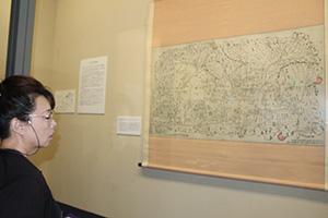 根来寺の修験道場などが描かれた「根来寺伽藍古絵図」