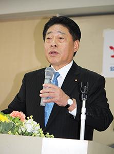 改憲の緊急性に否定的な考えを示した北側副代表