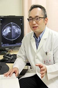 「乳がんの多くは自己検診で見つかっています」と芳林部長