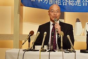 「厳しい戦いだが今戦わなくてはいけない」と藤井氏
