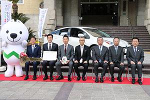 和歌山オールトヨタ6社会の社長ら