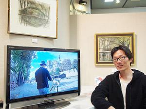 土井さんと新作DVDや絵画