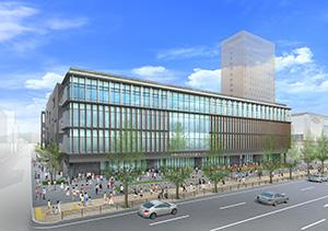新市民会館のイメージ図