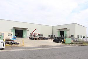 第3工場を建設する南海スチール