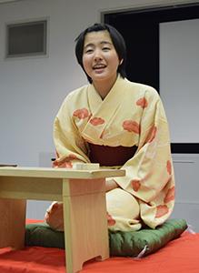 「星野屋」を演じる小阪さん