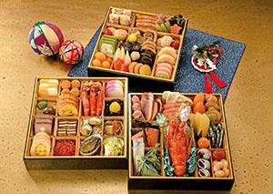 和洋の食材61品目を盛り込んだ「集(つどい)」