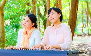 姉妹連弾ピアニスト「あまのね」