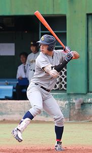関西学院大の野口選手(同大提供)
