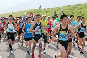 毎回人気のマラソン(昨年)