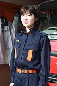 小崎由起子さん(39)=岩出市清水=