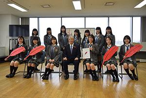 片山会長とスペシャルサポーターのFun×Fam