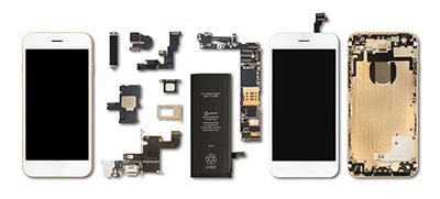 スマートフォンにもセイカの原料が使われている