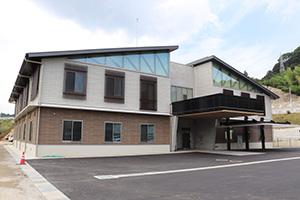 完成した海草振興局建設部の新庁舎
