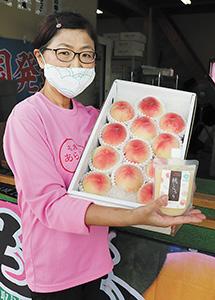 マカオへ輸出された桃と「桃とろり」