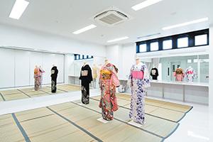 着付けが学べる「Kimono Room」