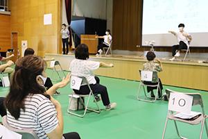 コグニサイズを実践する参加者
