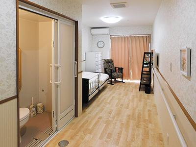 快適で明るい居室
