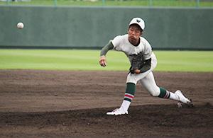3試合連続で無失点の江川投手(市和歌山)