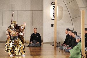 豪快な舞の能「熊坂」